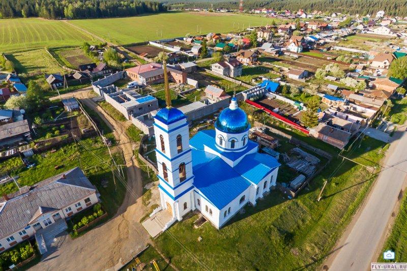 Ежегодные работы в селе Черданцево