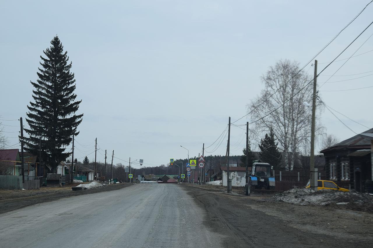 Ремонт дорог в Верхней Боевке в 2018 году