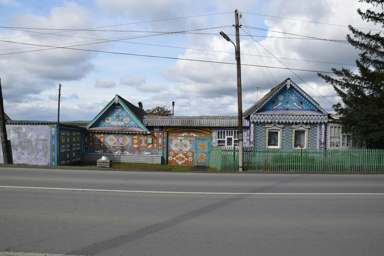 Благоустройство в деревне Большое Седельниково