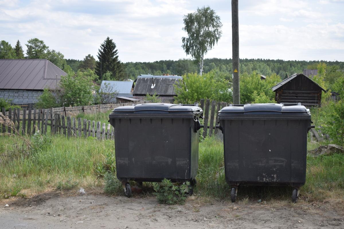Организация контейнерных площадок в поселке Асбест