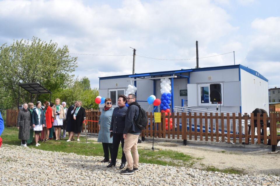Открытие ФАПа в селе Новоипатово