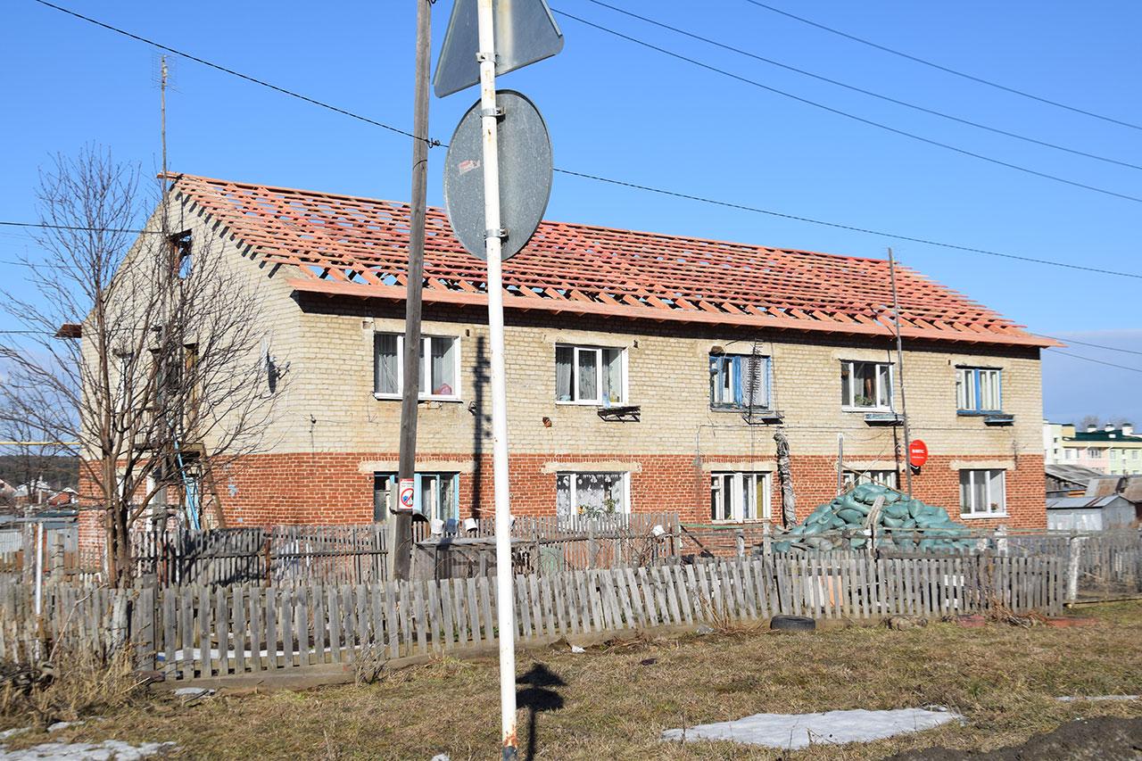 Капитальные ремонты многоквартирных домов в поселке Октябрьский в 2019 году