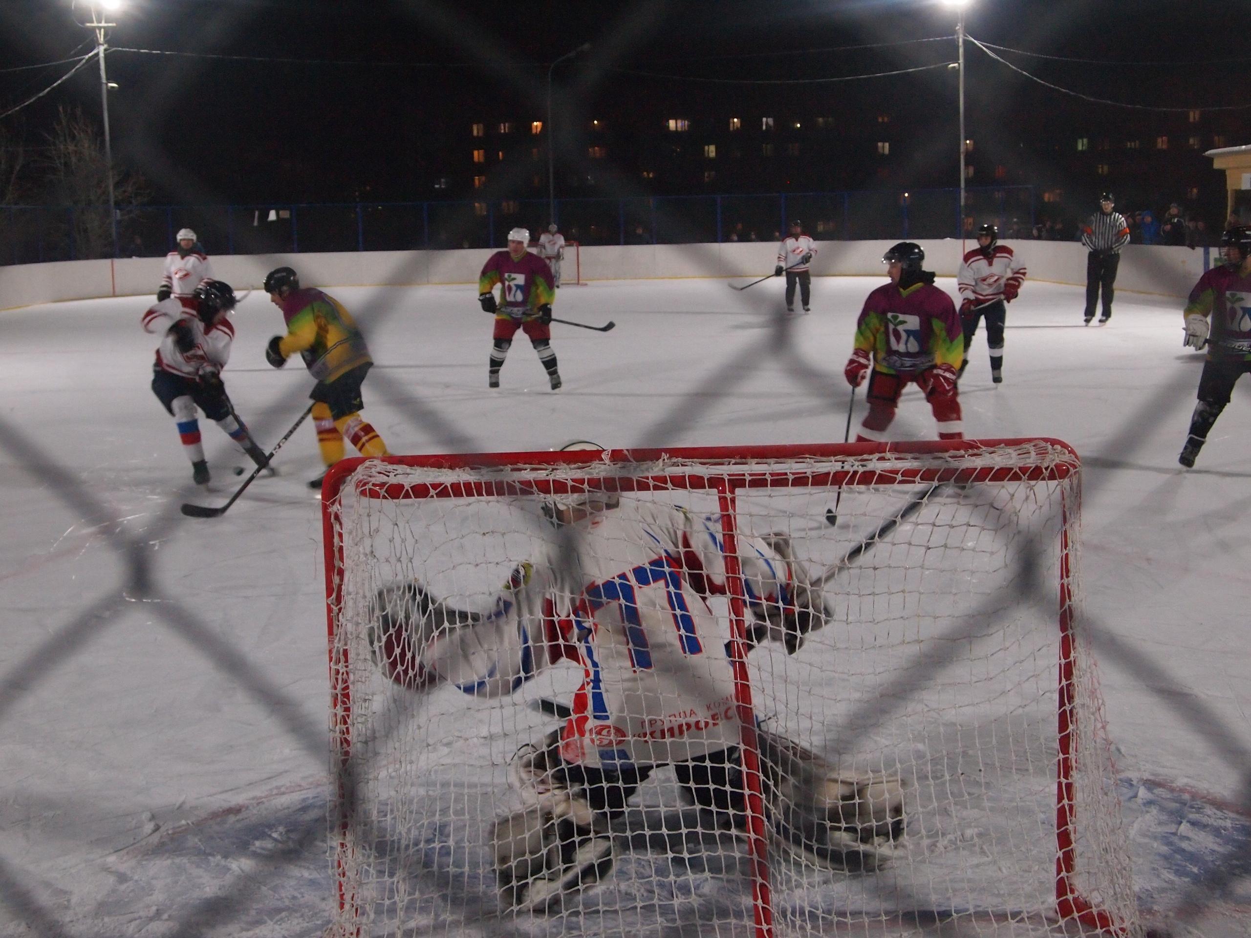 Ремонт хоккейных кортов в Сысерти