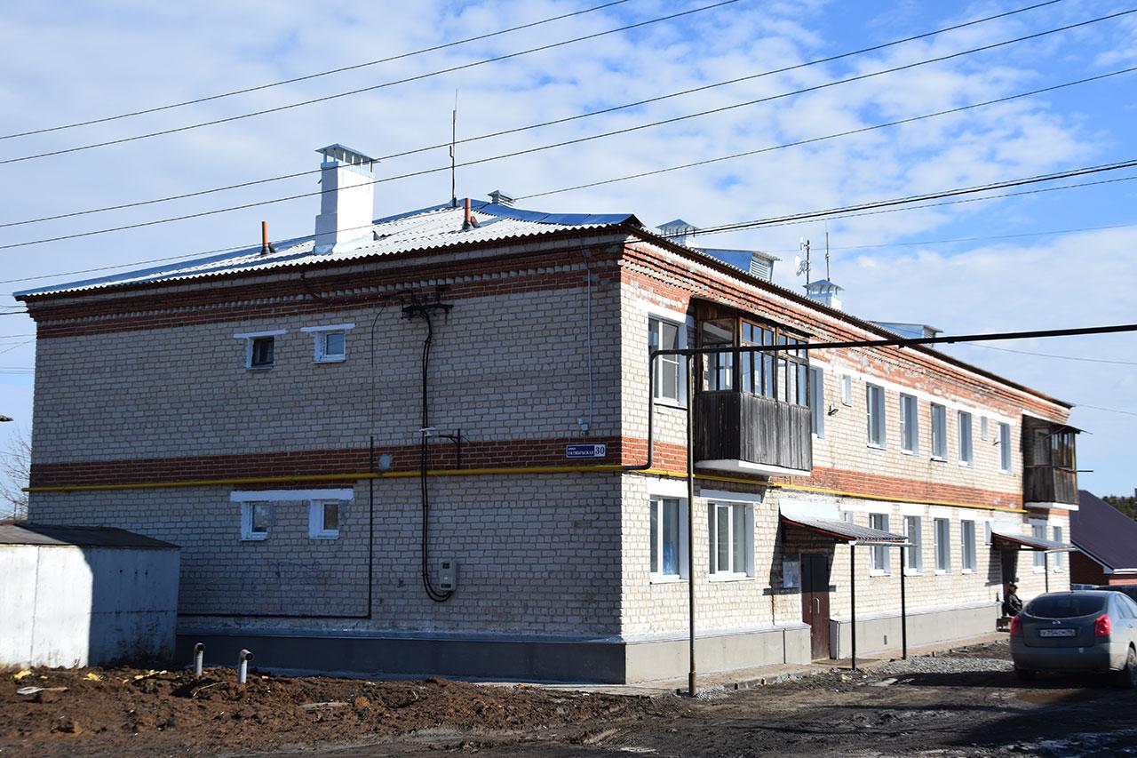 Капитальный ремонт многоквартирных домов в селе Бородулино в 2020 году