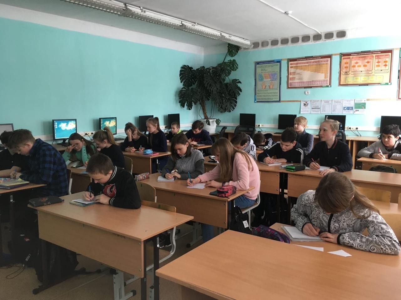 Плановые ремонты в школе №8