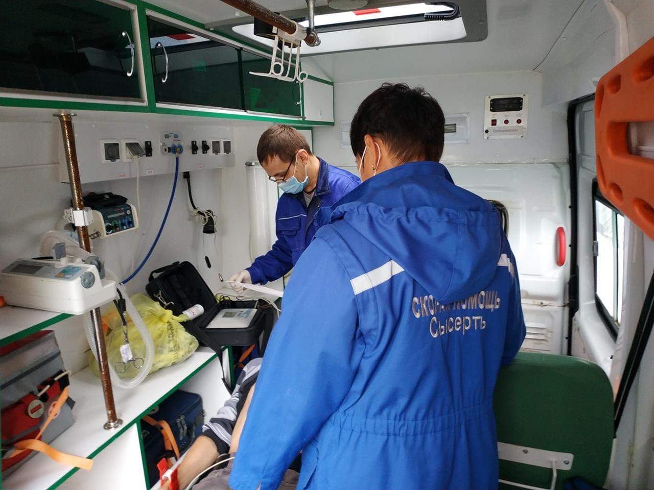 Ремонт отделения скорой помощи в Патрушах