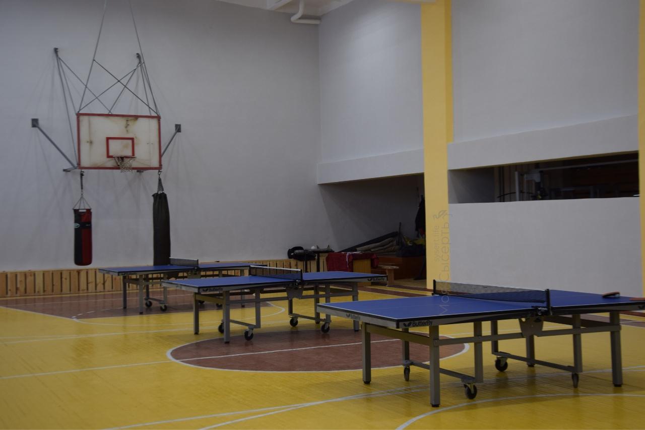 Ремонт спортивного зала в Патрушах