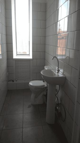 Устройство санузла в доме культуры села Абрамово в 2020 году