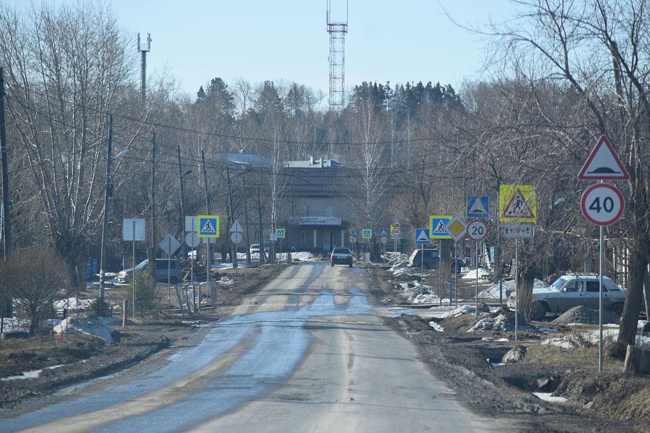 Обслуживание дорог в поселке Двуреченск в 2018 году