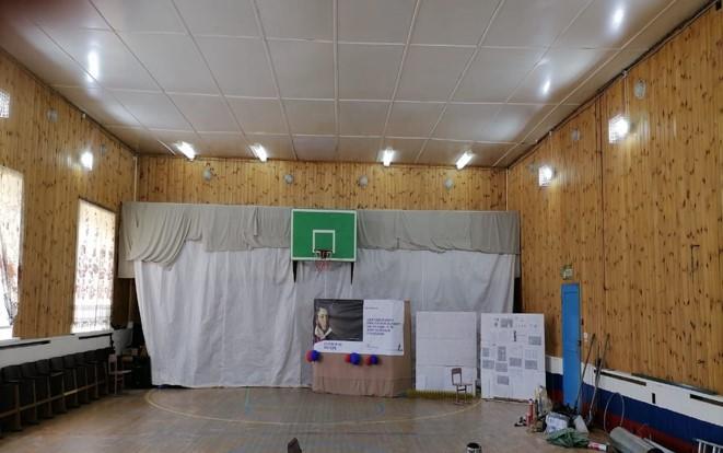 Обустройство зрительного зала в Первомайском