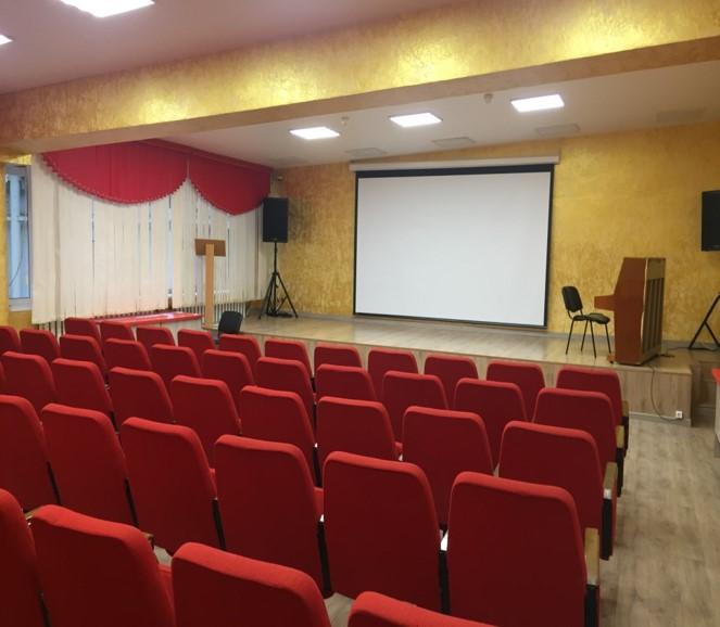 Создание виртуального зала во Дворце культуры в Сысерти