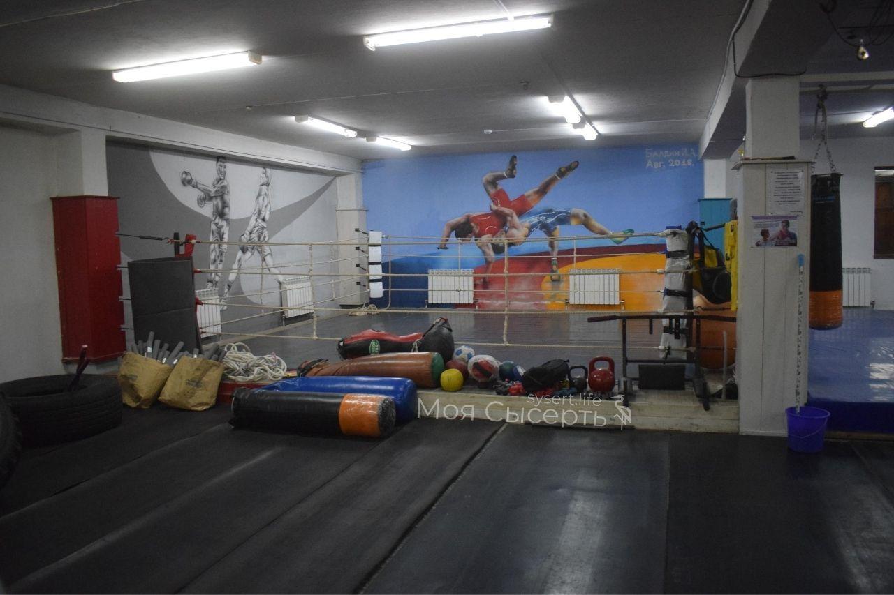 Ремонт спортзала в Двуреченске