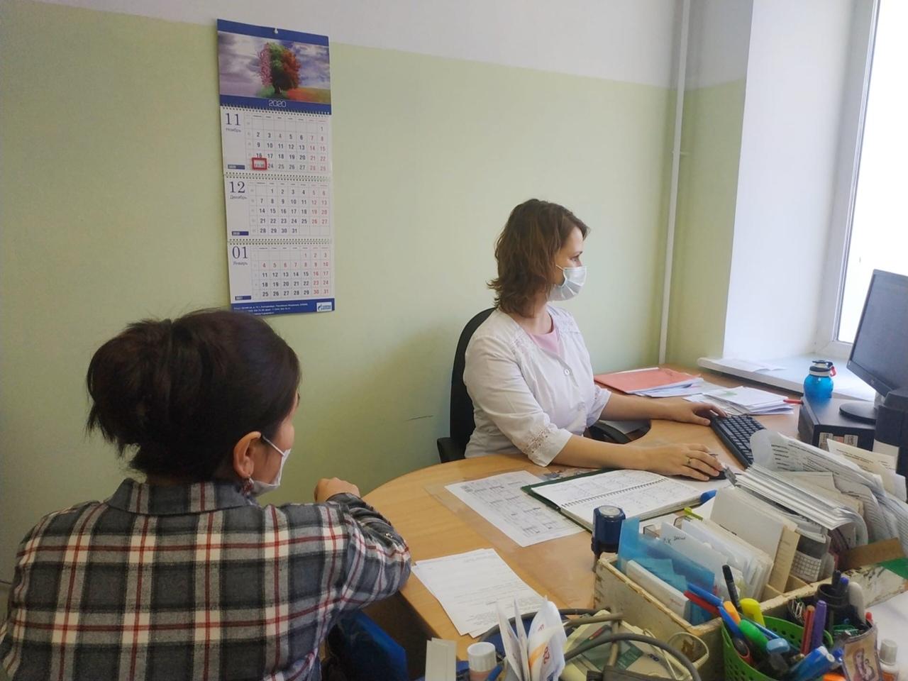 Окончен ремонт всех помещений в сысертской женской консультации