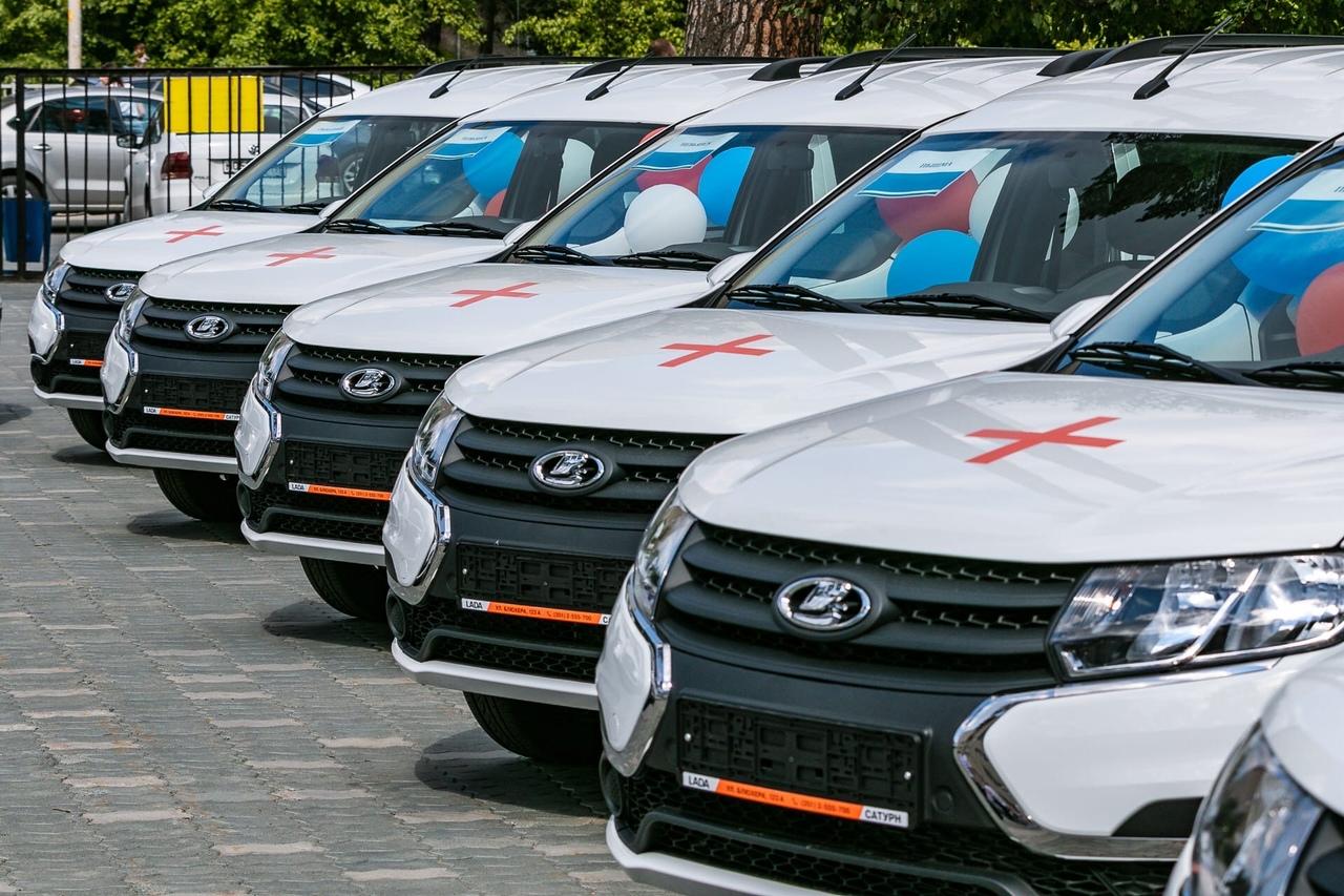 Новые автомобили в арсенале ЦРБ