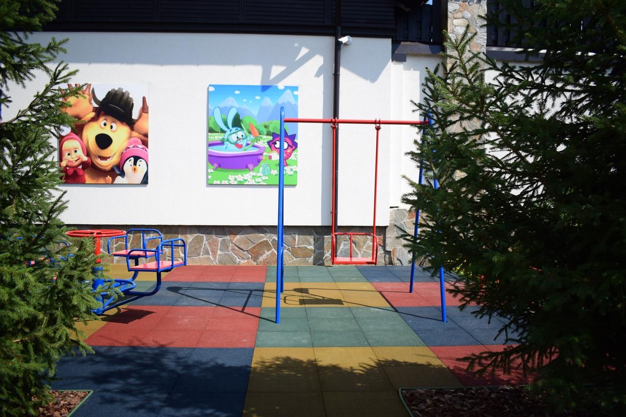 Детскую площадку сделали местные жители