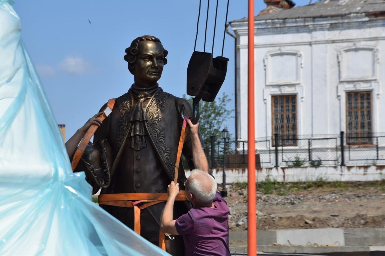 Установили памятник Турчанинову