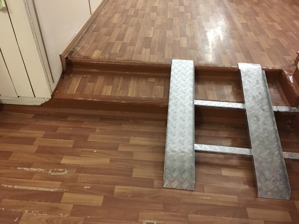 Ремонтные работы в сысертской школе №14